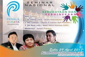 Penala Budaya Lampung Seminarkan Kebudayaan dan Kebhinnekaan