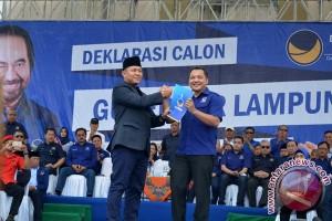 Nasdem Resmi Dukung Mustafa Pada Pilgub Lampung