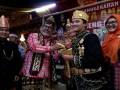 Kanjeng Muhammad Gusti Saibatin, putra mantan Kapolda Lampung Irjen Pol Ike Edwin usai menerima anugerah