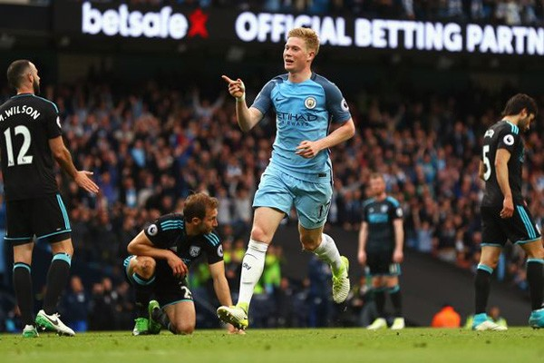 City hancurkan Liverpool 5-0