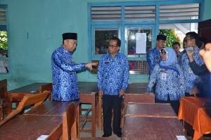 Bupati Lampung Utara: Tindak Tegas Jika Ada Kebocoran UN