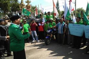 Mustafa temui buruh laksanakan aksi May day