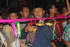 Bupati Mustafa Resmikan Pasar Sambil Ronda