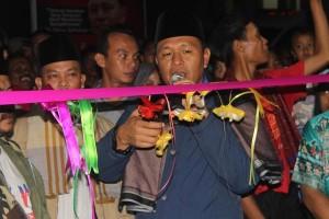 Bupati Lampung Tengah Resmikan Pasar Sambil Ronda