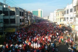 Ribuan Warga Ikuti Jalan Sehat HUT Bandarlampung