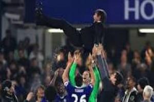 Chelsea rayakan gelar dengan kemenangan 4-3 atas Watford
