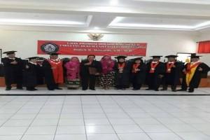 Ketua STIH Muhammadiyah Kotabumi Raih Gelar Doktor