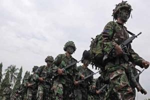 Latihan Gabungan TNI, satu perwira dan tiga prajurit gugur