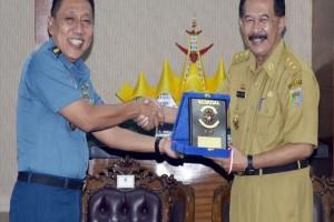 Perwira Seskoal Kunjungi Lampung
