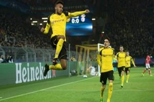 Penalti Aubameyang Antarkan Dortmund ke Liga Champions