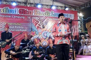 Herman: Siapkan Penerus Seniman Gitar Klasik Lampung
