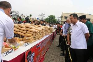 Pemprov Lampung Dukung TNI-Polri Jaga Kamtibmas