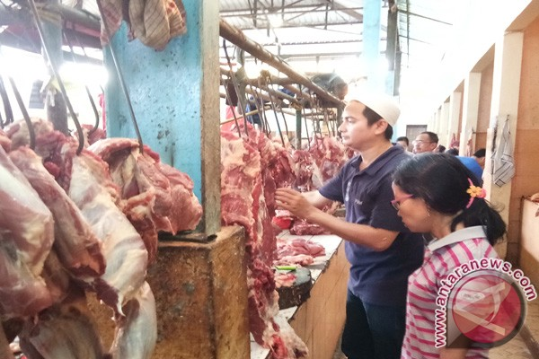 Harga daging sapi Rp120 ribu/kg