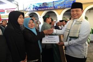Kafilah Lampung Tengah Terima Bonus Dari Bupati