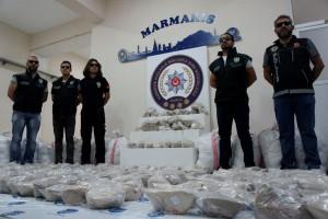 Turki sergap kapal Kongo, satu ton heroin disita