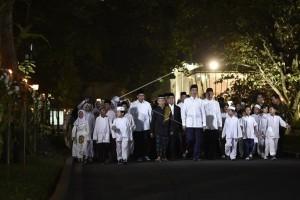 Obor Semarakkan Peringatan Nuzulul Quran di Istana