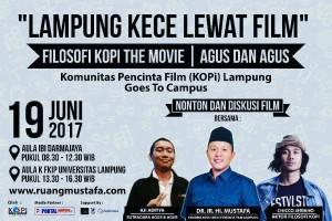 "KOPi gelar diskusi ""Lampung KECE lewat film"""