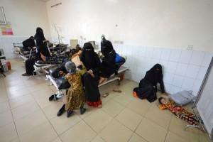 WHO: Korban Wabah Kolera di Yaman 923 Meninggal