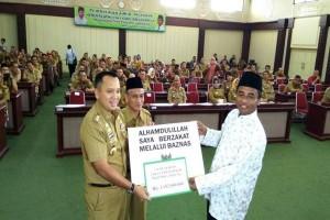 Pemprov Lampung Gelar Pembayaran Zakat Serentak