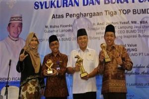 Gubernur: Anugerah TOP BUMD Awal Kebangkitan LJU