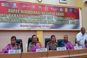 Wagub: Jajaran Pemprov Lampung Siap Hadapi Lebaran