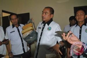 Polisi Sita Ganja Dari Honorer Dishub Bandarlampung
