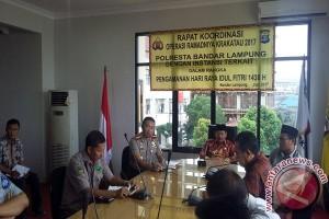 Polresta Bandarlampung Siapkan 12 Posko Lebaran