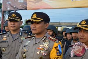 Polres Lampung Timur Siagakan 415 Personel