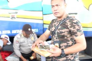 Polisi Menggagalkan Penyelundupan Ganja Melalui Bakauheni