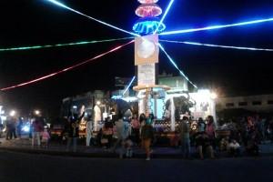 Jalan Protokol Bandarlampung Ramai Lancar Saat Takbiran