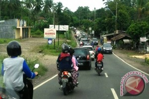 Arus Balik Kendaraan Mulai Ramai di Jalinbar