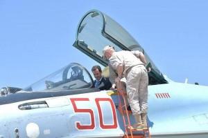 Presiden Suriah kunjungi Pangkalan Udara Rusia