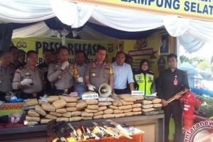 Kapolda Lampung Minta Jajaran Tingkatkan Kewaspadaan