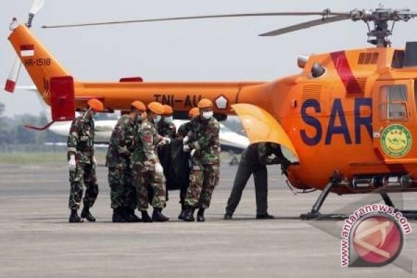 8 jenazah heli Basarnas dibawa ke RS Bhayangkara