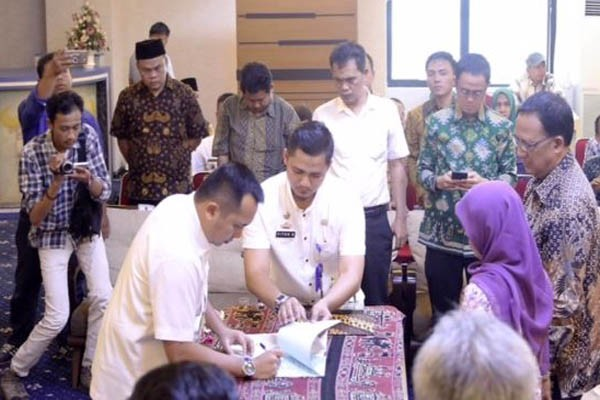 Pemprov Lampung Hibahkan Rp360,4 Miliar Pilkada 2018