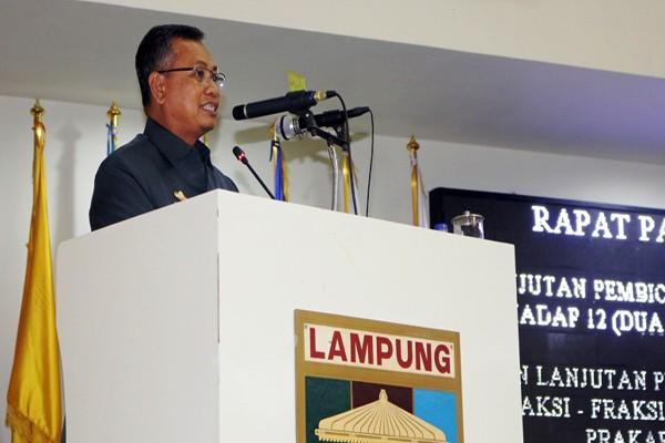 Pendapatan Lampung Diproyeksikan Rp7,6 Triliun