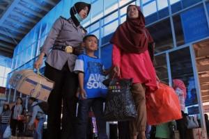 Sekitar 122 ribu  penumpang diseberangkan dalam 24 jam terakhir