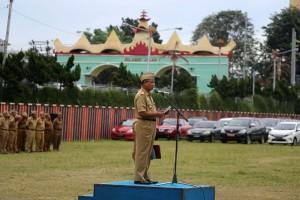 Sekdaprov Lampung: ASN Harus Tingkatkan Disiplin
