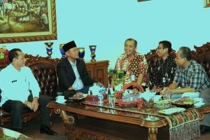 Lampung Tengah Kerja Sama dengan Kemenkeu Perbaiki Jalan