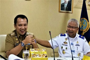 Pemprov Lampung-Kemenhub Prioritaskan Bangun Jalur KA Rejosari-Tarahan