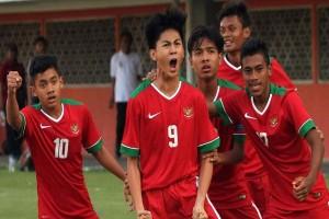 Timnas U-16 Kalahkan Singapura 2-0 di Thailand