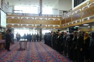 Wagub Lampung Lantik 127 Pejabat Administrator
