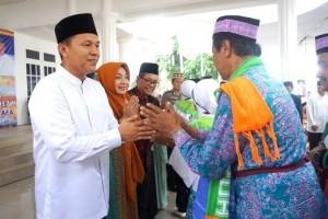 Lampung Tengah Bantu Jamaah Haji Rp2 Miliar
