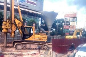 Kemen PUPR Perintahkan Penghentian Pembangunan Flyover MBK