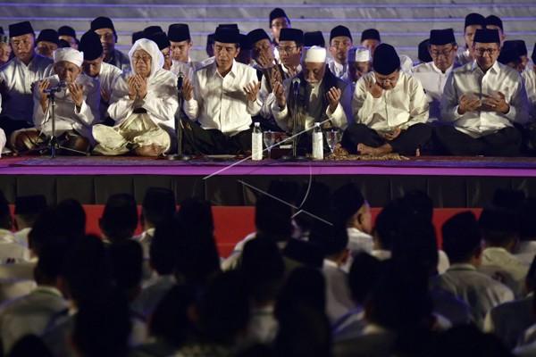 Ribuan Umat Muslim Penuhi Istana Dzikir Kebangsaan