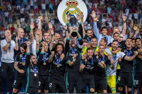 Real juara piala Super Eropa