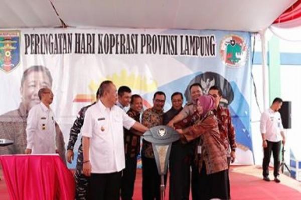Lampung Punya Pusat Layanan Usaha Terpadu Koperasi-UMKM