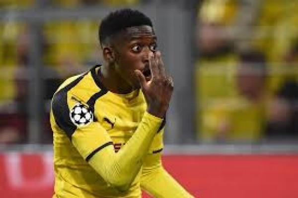 Dortmund skors Dembele