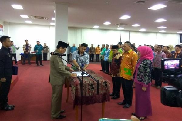 220 Pejabat Pemprov Lampung Dilantik