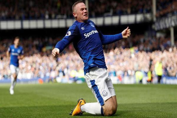 Rooney Cetak Gol Kemenangan Penanda Kembali ke Everton
